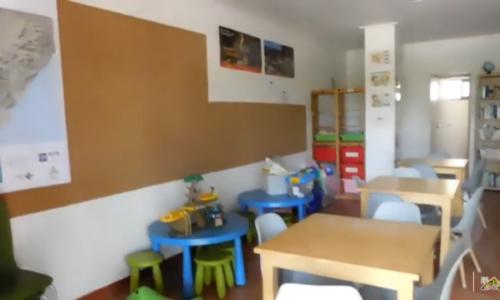 Sala de juegos infantil, Camping Ribamar