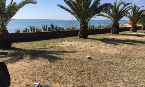 Parcela frente al mar camping francas tarragona costa dorada