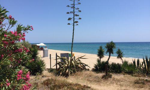Playa del Francas, camping francas Tarragona, costa dorada Catalunya