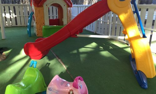 Parque infantil camping francas