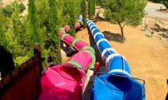 Toboganes camping Montblanc Park Capfun Tarragona