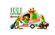 LOGO DE 1001 CAMPINGS EN FAMILIA