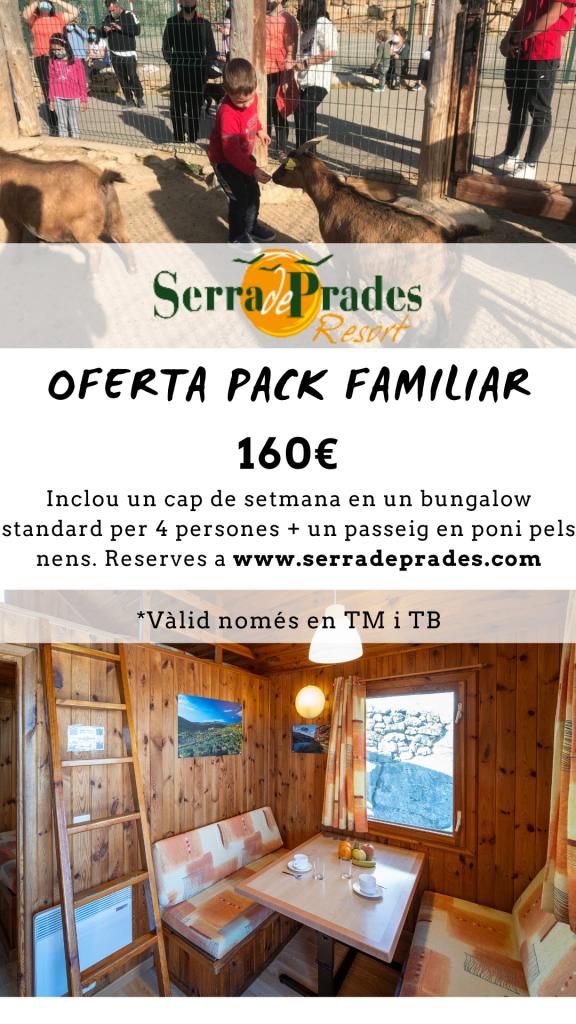 oferta familia camping Serra de Prades Resort